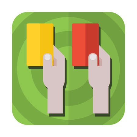 penalty: yellow and red penalty cards