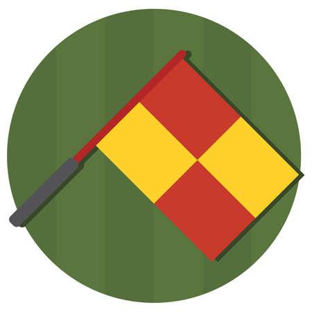 linesman: linesman flag