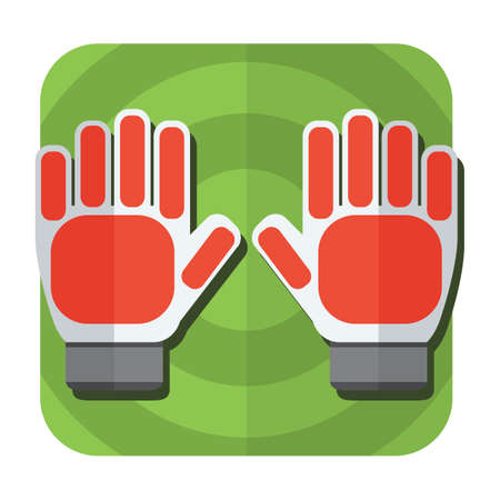 arquero: guantes de portero