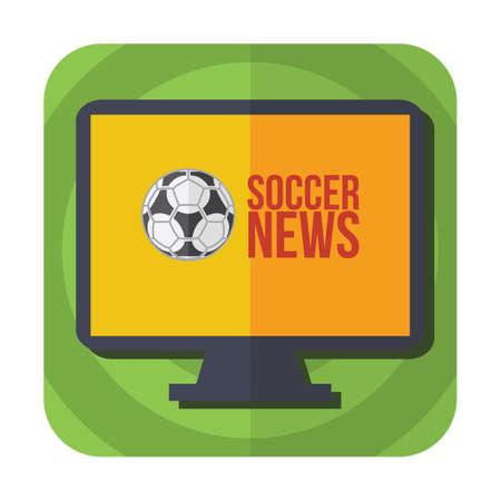 nouvelles de football à la télévision