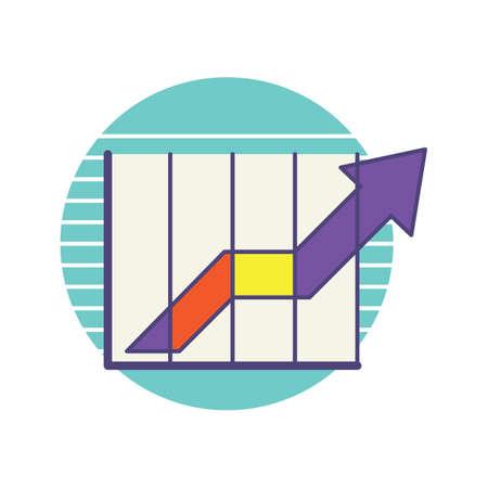 統計情報  イラスト・ベクター素材