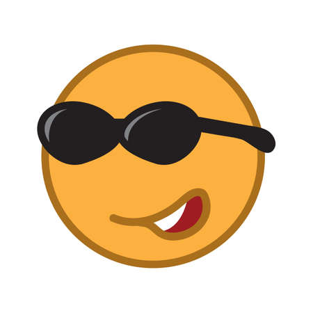 spectacles: emoticon with spectacles