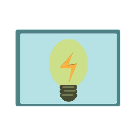 light bulb Illusztráció