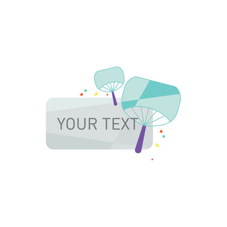 your text button Ilustrace
