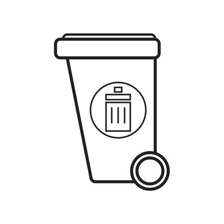 recycling bin: recycling bin