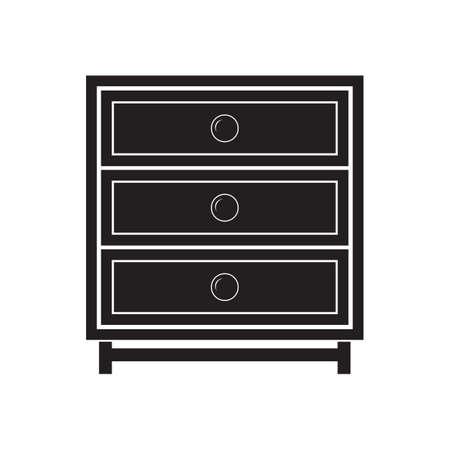 drawer: wooden chest drawer