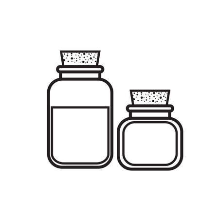 toiletries: spa bottles