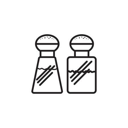 salt shaker: salt and pepper shaker