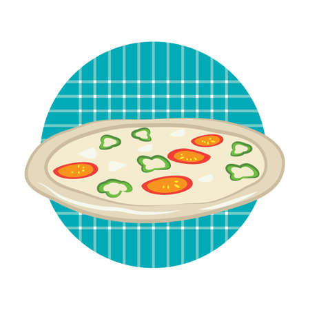 pizza Stock Vector - 81469315