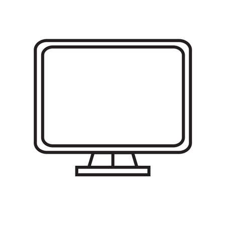 screen: monitor screen Stock Photo