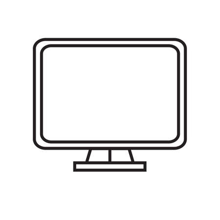 screen: monitor screen Illustration