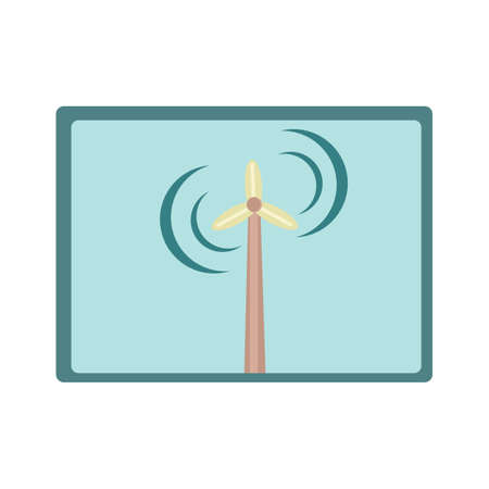 Windmühle Standard-Bild - 81469359