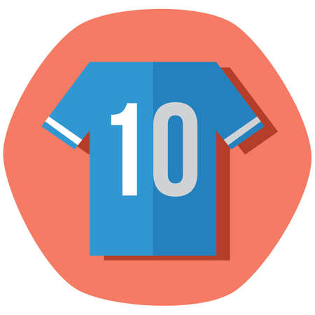 soccer jersey: soccer jersey Illustration