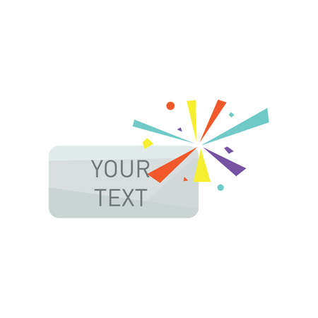 your text button Illustration