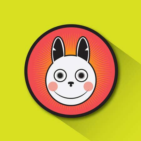 blushing: rabbit blushing