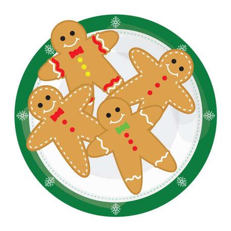 gingerbread man: gingerbread man sticker