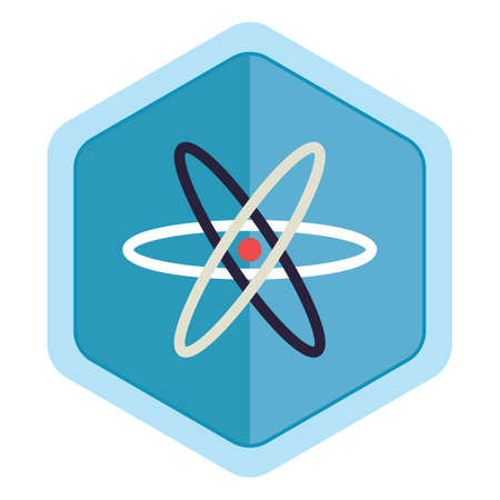 atomic structure: atomic structure Stock Photo