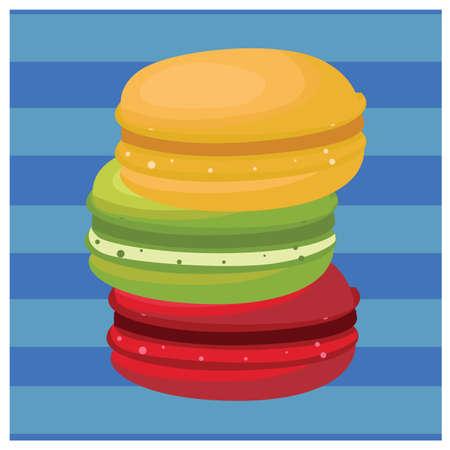 macarons: fruit macarons