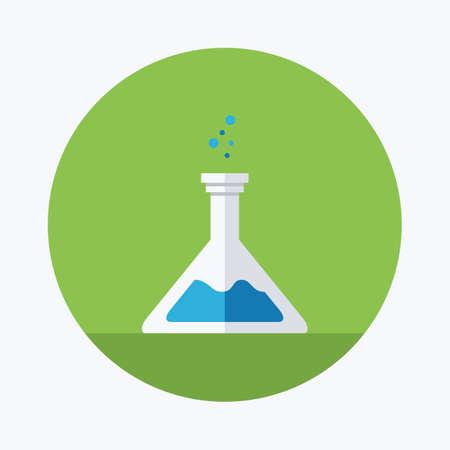 flask: laboratory flask icon