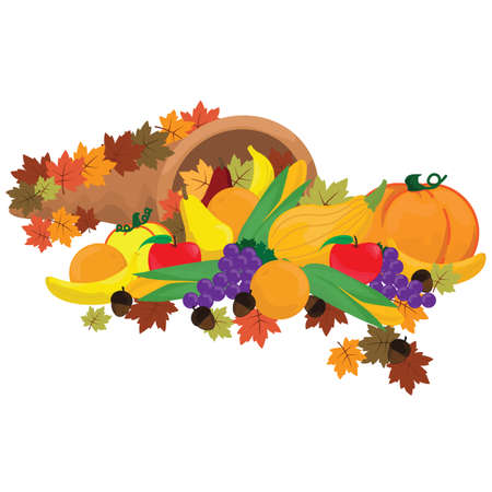 cornucopia: autumn cornucopia