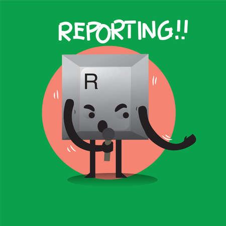 reporting: reporting keyboard button