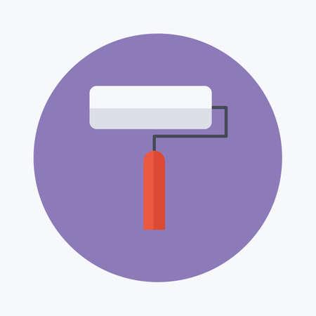 roller: paint roller brush