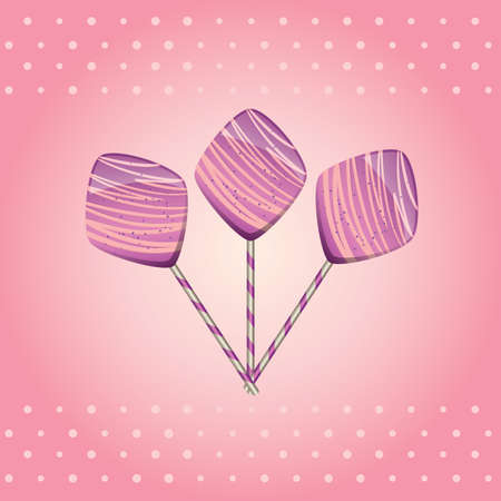 paletas de caramelo: piruletas