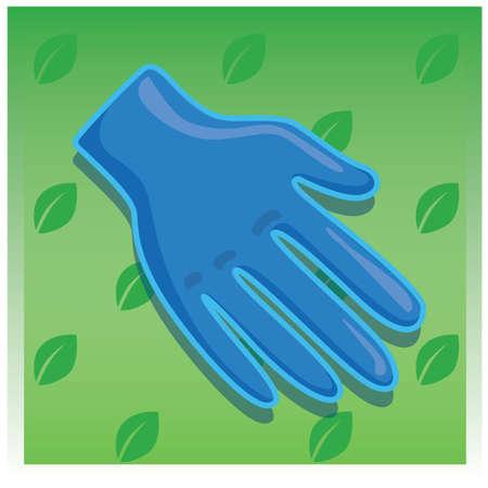 hand wear: hand glove Stock Photo