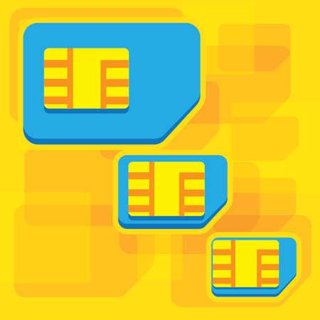 sim: sim card sizes