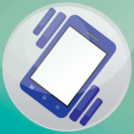 vibrating: smartphone vibrating