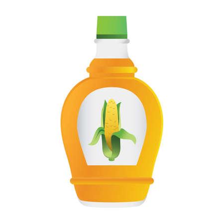 corn syrup Zdjęcie Seryjne