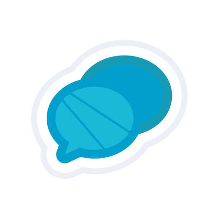 chat: chat bubble icon