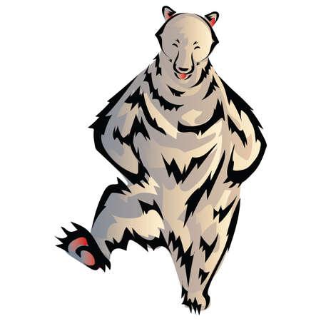 polar bear: polar bear