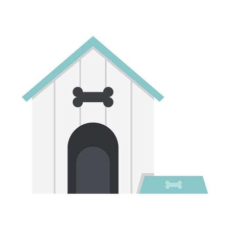 beware of dog: dog home Illustration