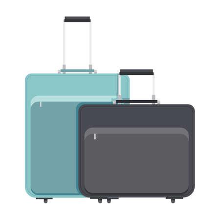 may�sculas: maleta Vectores