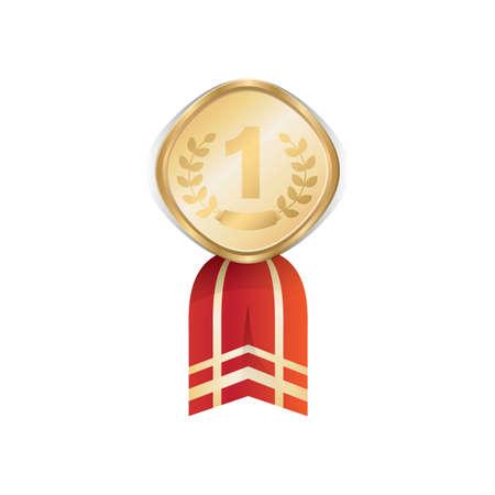medal ribbon: medal ribbon Illustration