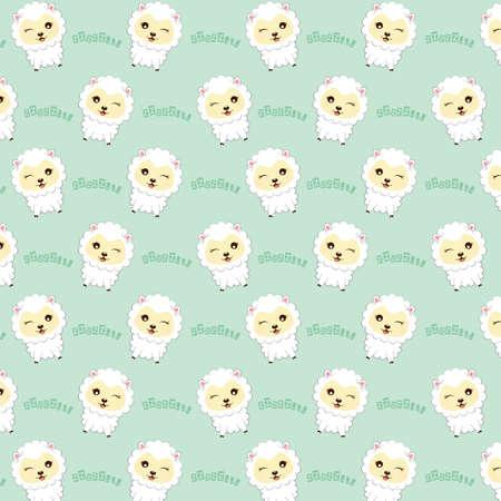 patrón de las ovejas