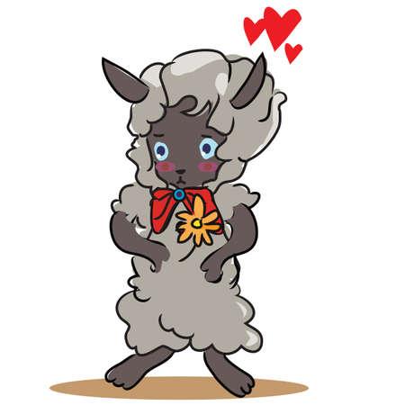 sheep love: sheep in love