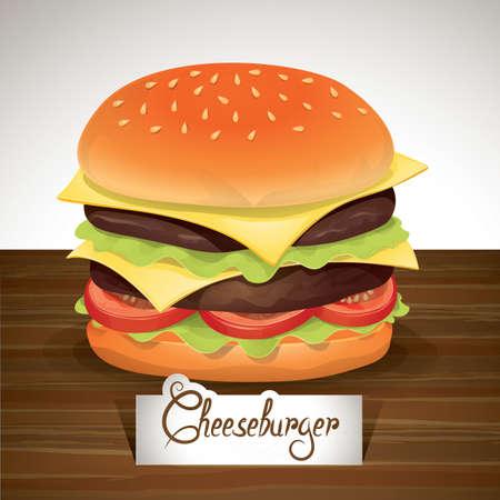 patty: cheeseburger