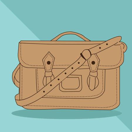 buckles: handbag Illustration