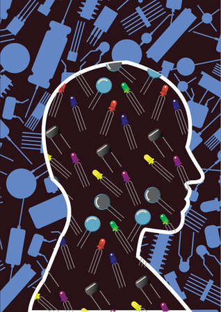 capacitor: brain with semiconductors