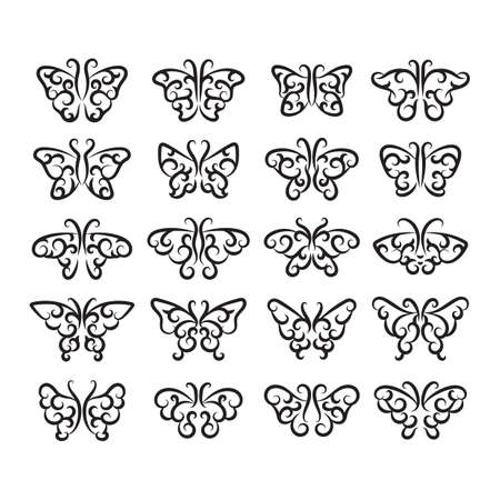 flutter: collection of butterflies