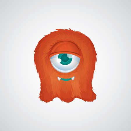 cute: cute monster Illustration
