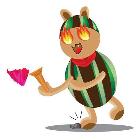 maldestro: personaggio dei cartoni animati goffa