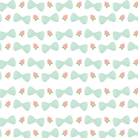 cuff: ribbon pattern