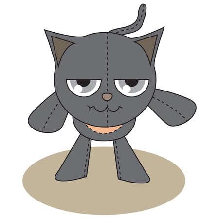 bending: cat bending forward
