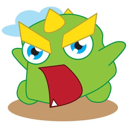 shouting: alligator shouting