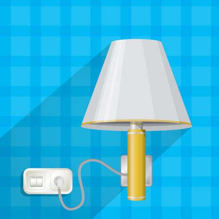 wall plug: lamp