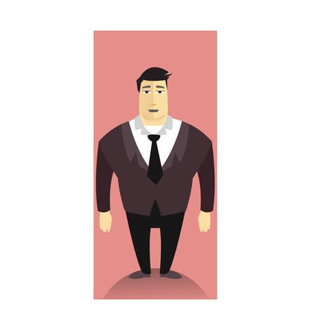 guy standing: businessman standing
