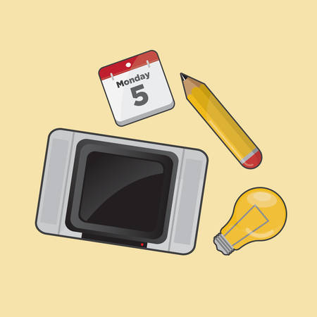 various: collection of various icons Illustration